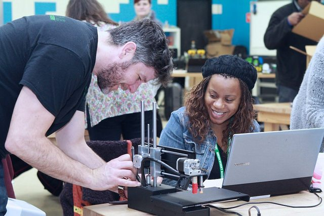 Local Educators Learn to 3D Print