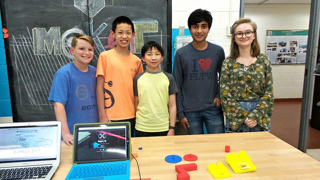 Ridgely Middle School FabSLAM team