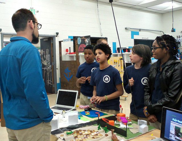 Baltimore Youth Solve Transportation Problems with Digital