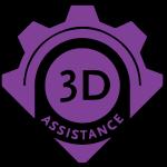 DHF Print Shop logo
