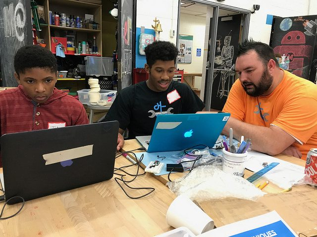 Baltimore Youth Participate in Inaugural Youth Hackathon at DHF