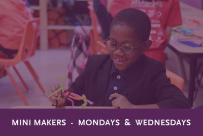 mini makers mondays wednesdays